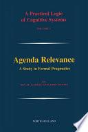 Agenda Relevance  A Study in Formal Pragmatics