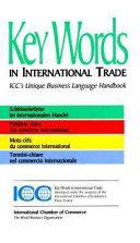 illustration du livre Key Words in International Trade