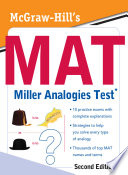 McGraw Hill s MAT Miller Analogies Test  Second Edition