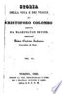 Storia della vita e dei viaggi di Cristoforo Colombo scritta da Washington Irving americano     Vol  1    9
