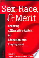 Sex  Race  and Merit