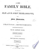 A new family bible