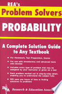 Ebook The Probability Problem Solver Epub Vance Berger,Research and Education Association Apps Read Mobile