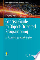 Concise Guide To Object Oriented Programming