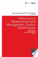 Performance Measurement And Management Control