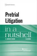 Pretrial litigation in a nutshell document cover