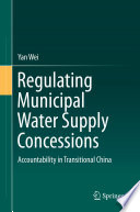 Regulating Municipal Water Supply Concessions book