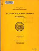 The Future of Electronic Commerce in California