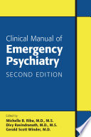Clinical Manual of Emergency Psychiatry  Second Edition