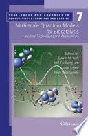 Multi scale Quantum Models for Biocatalysis
