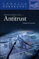 Principles of Antitrust