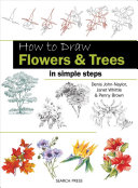 How To Draw Flowers And Trees In Simple Steps