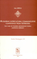 Acquiring Intercultural Communicative Competence from Textbooks