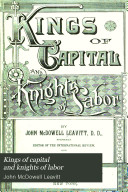 Ebook Kings of Capital and Knights of Labor Epub John McDowell Leavitt Apps Read Mobile