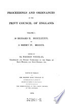 10 Richard II  1386 to 11 Henry IV  1410