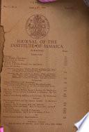 Journal of the Institute of Jamaica Book PDF