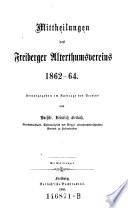 Mittheilungen des Freiberger Alterthumsvereines