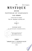La mystique divine, naturelle et diabolique