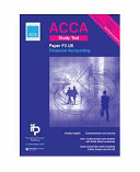 Acca F3 UK Financial Accounting Study Text