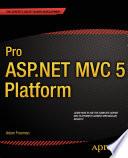 Pro ASP NET MVC 5 Platform