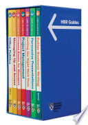 HBR Guides Boxed Set  7 Books   HBR Guide Series