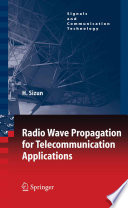 Radio Wave Propagation For Telecommunication Applications : ...