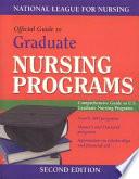 Guide to Graduate Nursing Programs