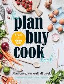 The Plan Buy Cook Book Book