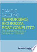 Terrorismo  sicurezza  post conflitto