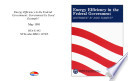 Energy efficiency in the federal government   government by good example