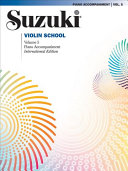 Suzuki Violin School  Vol 5