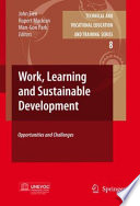 Work  Learning and Sustainable Development