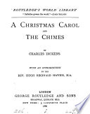 A Christmas carol  and The chimes