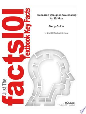 Research Design in Counseling - ISBN:9781467271608