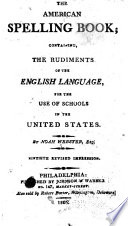 The American Spelling Book