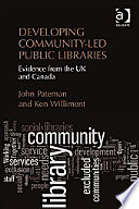 Developing Community Led Public Libraries
