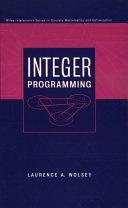 Integer Programming book