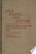 Race  Politics  and Culture