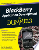 Blackberry Application Development For Dummies