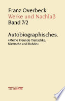 Franz Overbeck: Werke und Nachlaß