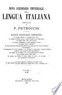 N  ve dizion  rio universale della lingua italiana