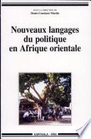 illustration Nouveaux langages du politique en Afrique orientale