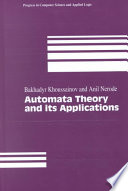 Automata Theory and its Applications