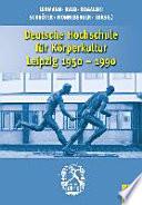 Deutsche Hochschule für Körperkultur Leipzig