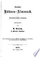 Deutscher Bühnen-Almanach
