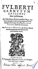 Liber epistolarum