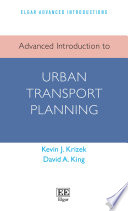 Advanced Introduction To Urban Transport Planning