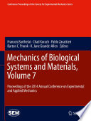 Mechanics of Biological Systems and Materials  Volume 7