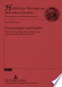 Ernst Jünger und Goethe