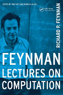 Feynman Lectures On Computation : on computation at the california institute of...